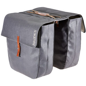 Brooks Brick Lane Roll-Up Panniers grey grey