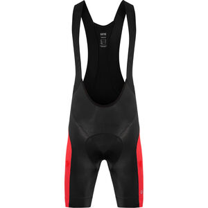 GORE WEAR C3 Bib Tights short Men black/red bei fahrrad.de Online