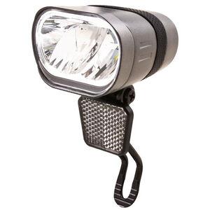 spanninga Axendo 60 XE Front Light for E-Bikes StVZO silver silver