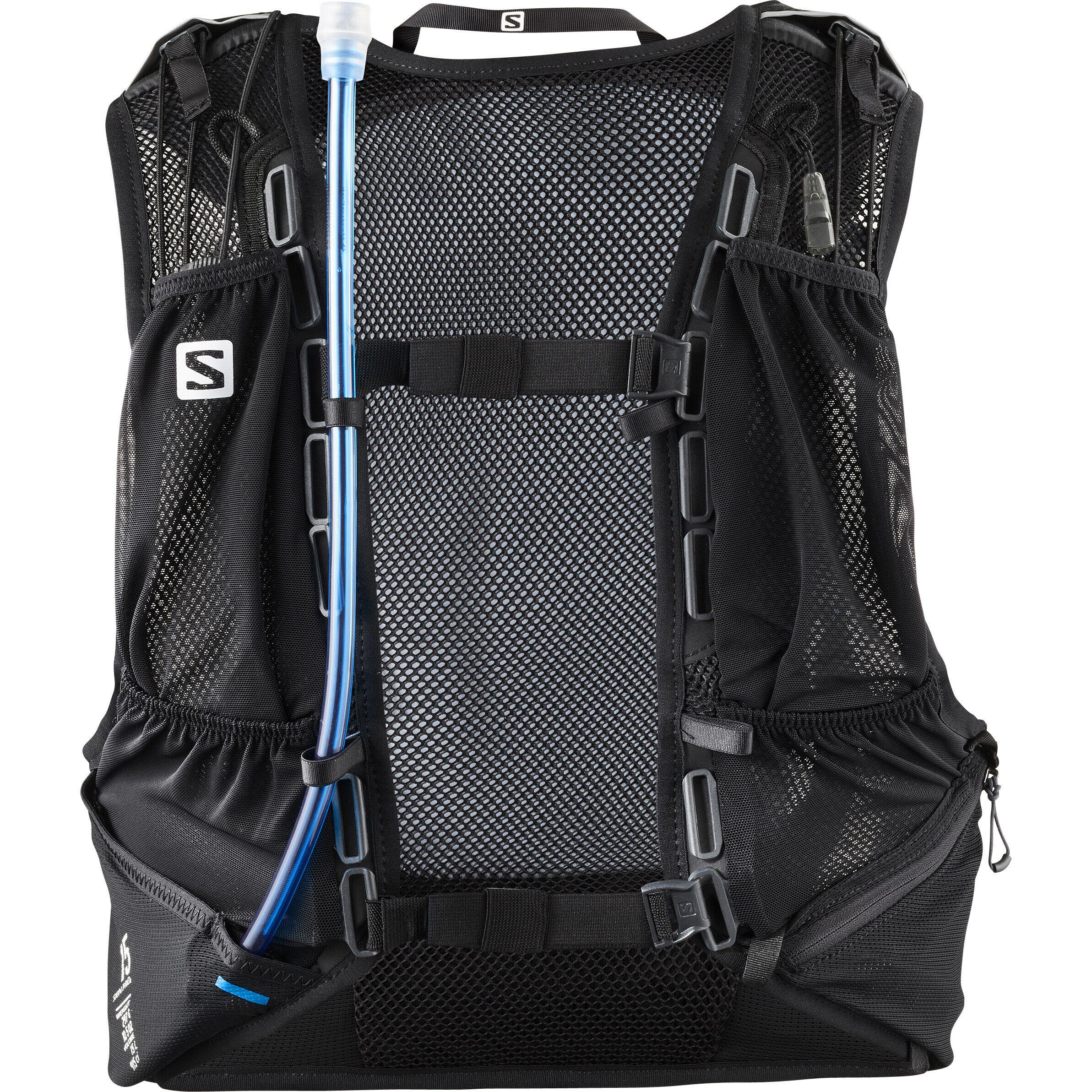 Salomon Skin Pro 15 Set Rucksack blackebony