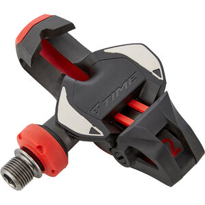 Time Xpro 12 Carbon Road Pedals black/red black/red