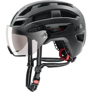 UVEX Finale Visor Helmet black matt black matt