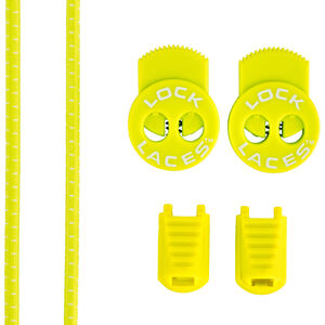 Lock Laces Run Laces Safety Yellow safety yellow
