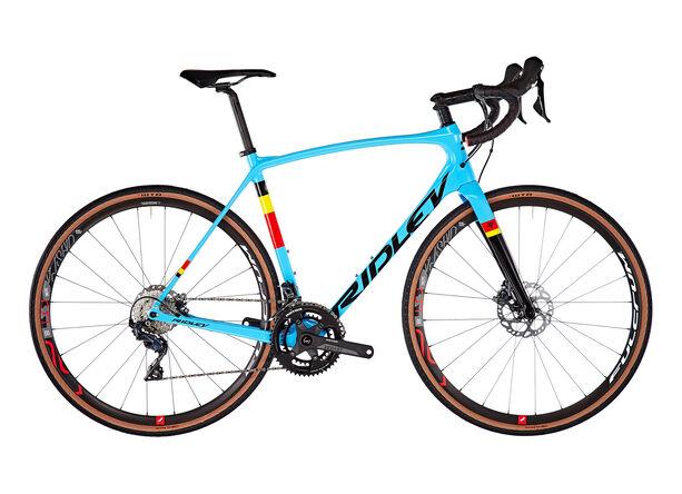 Ridley Bikes Kanzo Speed C Ultegra HD belgian blue/black