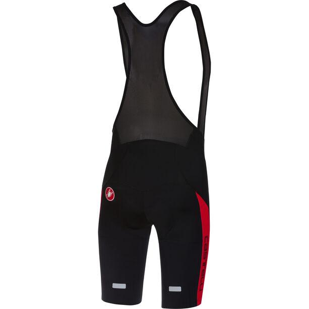 Castelli Velocissimo IV Bib Shorts Herren black/red