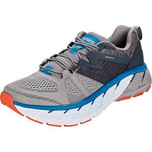 Hoka One One Gaviota 2 Running Shoes Men Frost Gray/Seaport