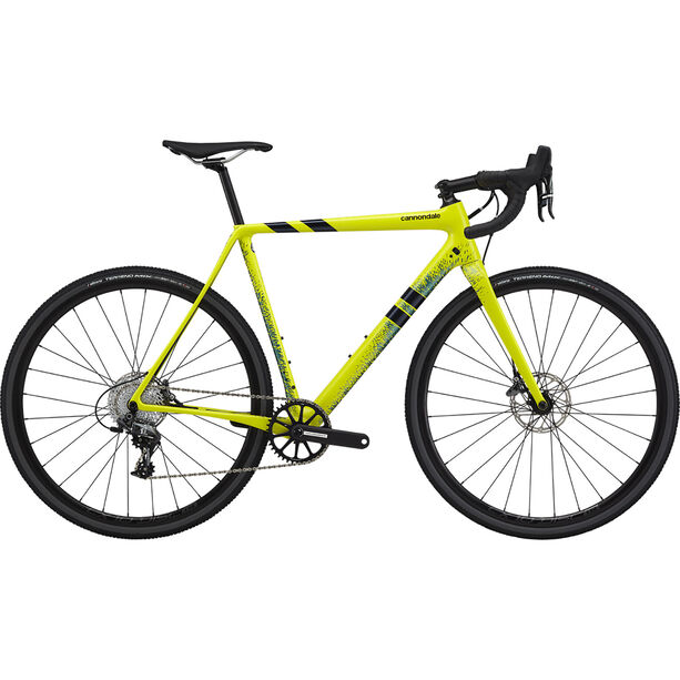 Cannondale SuperX Force 1 nuclear yellow