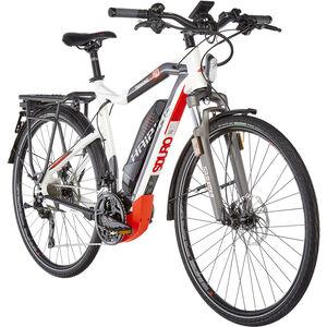 HAIBIKE SDURO Trekking S 8.0 Herren Weiß/Titan/Rot bei fahrrad.de Online