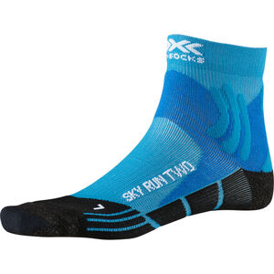 X-Socks Sky Run Two Socks Herren teal blue/opal black teal blue/opal black