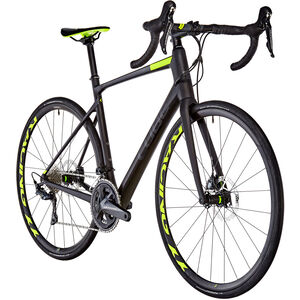 Cube Attain GTC SLT Disc Carbon'n'Flashyellow bei fahrrad.de Online