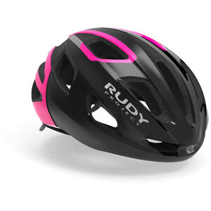 Rudy Project Strym Helmet black/pink fluo shiny black/pink fluo shiny