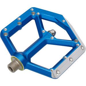 Spank Spike Flat Pedals blue