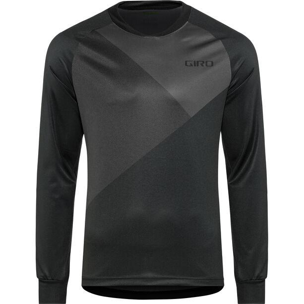 Giro Roust MTB LS Jersey Herren black shadow