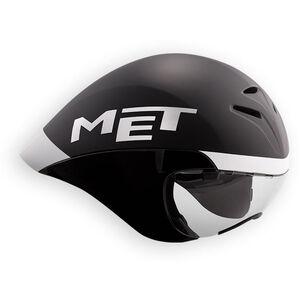 MET Drone Helm black/white black/white
