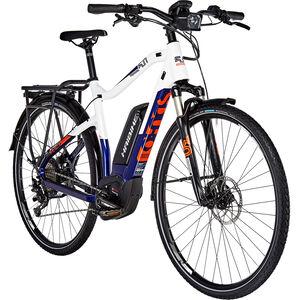 HAIBIKE SDURO Trekking 5.0 Herren blau/weiß/orange bei fahrrad.de Online