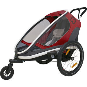 Hamax Outback One Bike Trailer red/grey/black red/grey/black