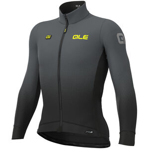 Alé Cycling PRS Dots DWR Longsleeve Jersey Herren black-grey black-grey
