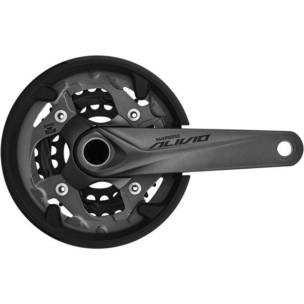 Shimano Alivio FC-M4050 Kurbelgarnitur 40/30/22 9-fach grau
