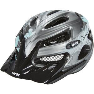 UVEX onyx Helmet Damen dark silver-light blue dark silver-light blue