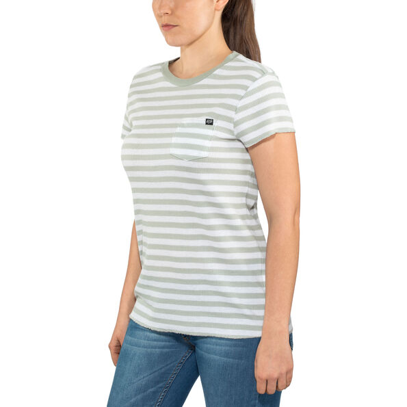 Fox Striped Out SS Crew