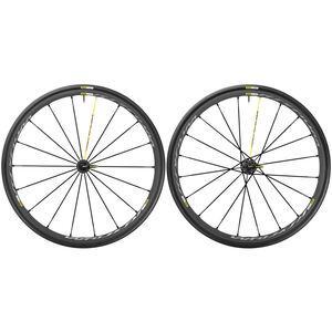 Mavic Ksyrium Pro Exalith Laufradsatz Shimano 25 schwarz schwarz