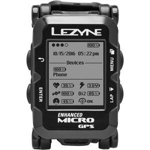 Lezyne Micro GPS Watch mit Herzfrequenzmessgerät schwarz bei fahrrad.de Online