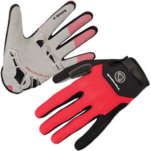 Endura Singletrack Plus Gloves red red