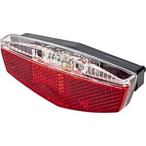 XLC Gepäckträger LED Rückleuchte inkl Reflektor & Standlicht