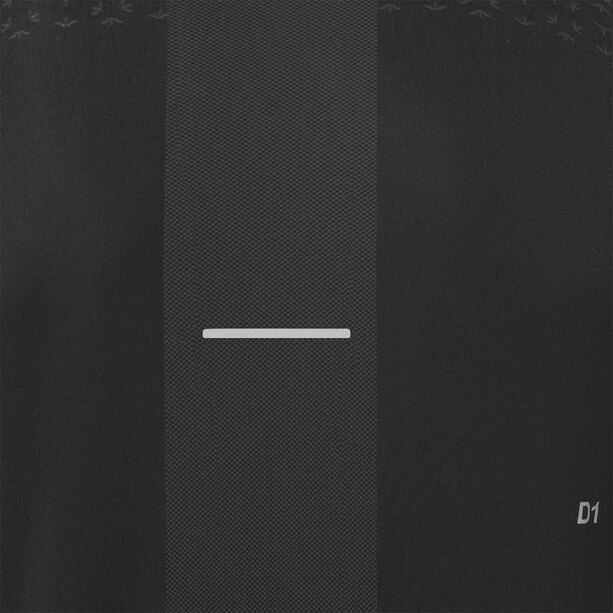 asics Seamless LS Texture Shirt Herren performance black