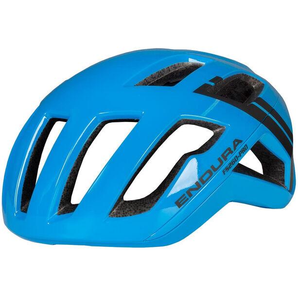 Endura FS260 Pro Helm Herren neon blue