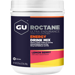 GU Energy Roctane Ultra Endurance Energy Drink Mix Tub 780g Lemon Berry