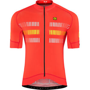 Alé Cycling Graphics PRR Strada Shortsleeve Jersey Herren flou yellow flou yellow