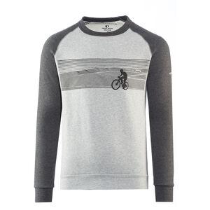 PEARL iZUMi Rundhals-Sweatshirt Herren landscape bike black/grey landscape bike black/grey