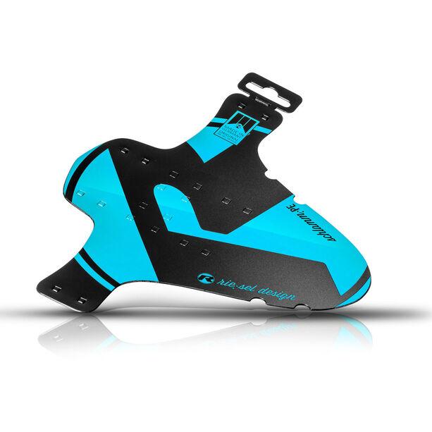 "rie:sel design schlamm:PE Front Mudguard 26-29"" blue"