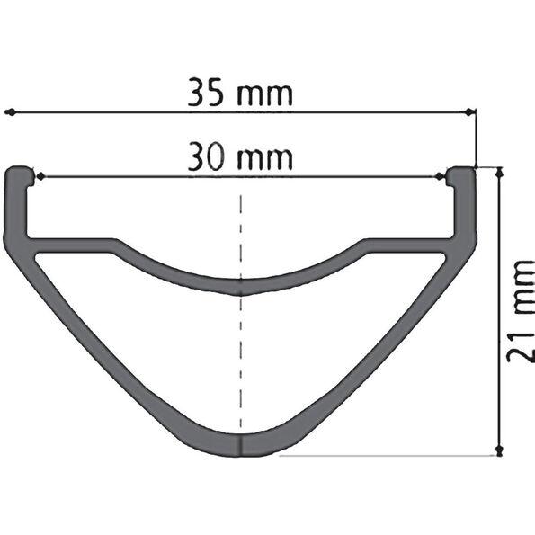 "DT Swiss XM 1501 Spline One Laufrad 27,5""/25mm HR Alu 142/12mm"