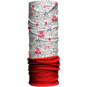 HAD Originals Fleece Tube Kinder blumen/red fleece blumen/red fleece