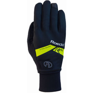 Roeckl Villach Handschuhe black/yellow black/yellow