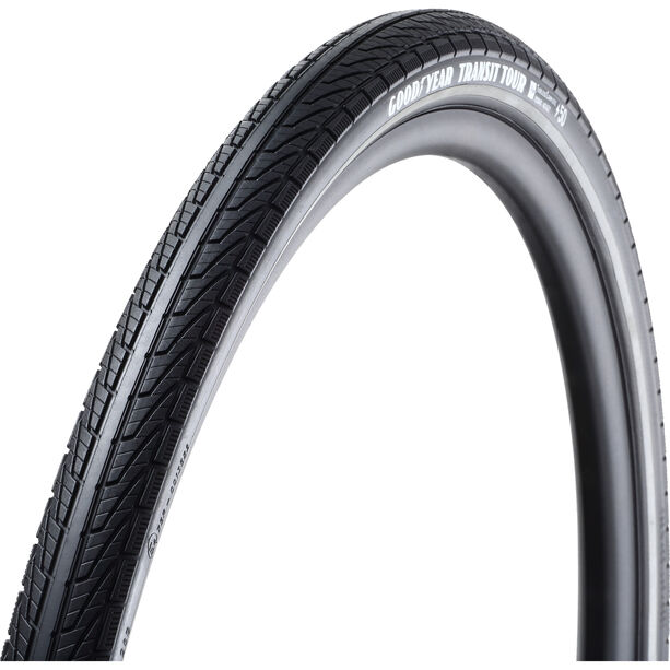 Goodyear Transit Tour Faltreifen 50-622 Tubeless Complete Dynamic Silica4 e50 black reflected