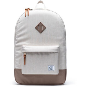 Herschel Heritage Backpack overcast crosshatch/pine bark overcast crosshatch/pine bark