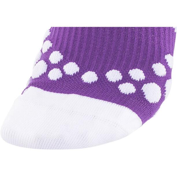 Compressport Racing V2 Socks fluo purple