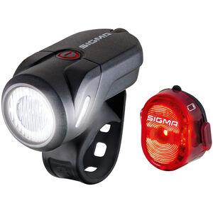SIGMA SPORT Aura 35/Nugget II USB Beleuchtungsset StVZO