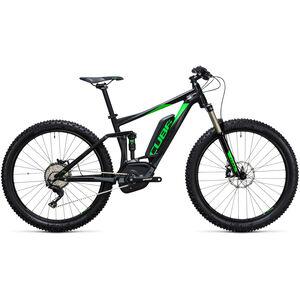 2. Wahl Cube Stereo Hybrid 120 HPA Race 500 27,5+ black'n'green bei fahrrad.de Online