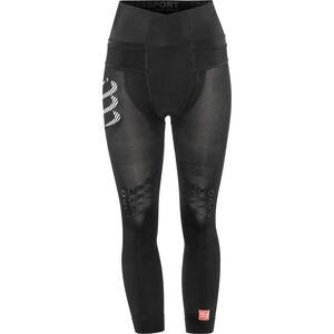 Compressport Trail Running Pirate 3/4 Pants Damen black black