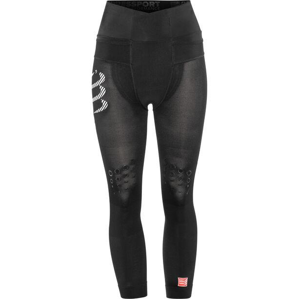 Compressport Trail Running Pirate 3/4 Pants Damen black