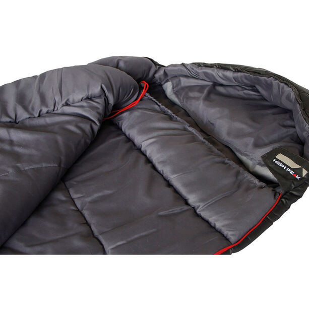 High Peak Redwood -3 Sleeping Bag L dark grey
