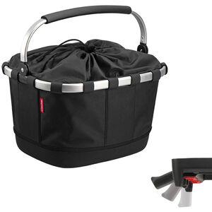 KlickFix Reisenthel Carrybag GT mit UniKlip schwarz schwarz