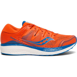 saucony Hurricane ISO 5 Shoes Men Orange/Blue bei fahrrad.de Online
