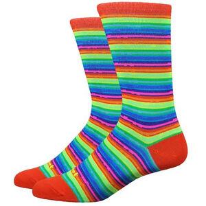 DeFeet Mondo Socks spectrum (hi-vis multi-colored) spectrum (hi-vis multi-colored)