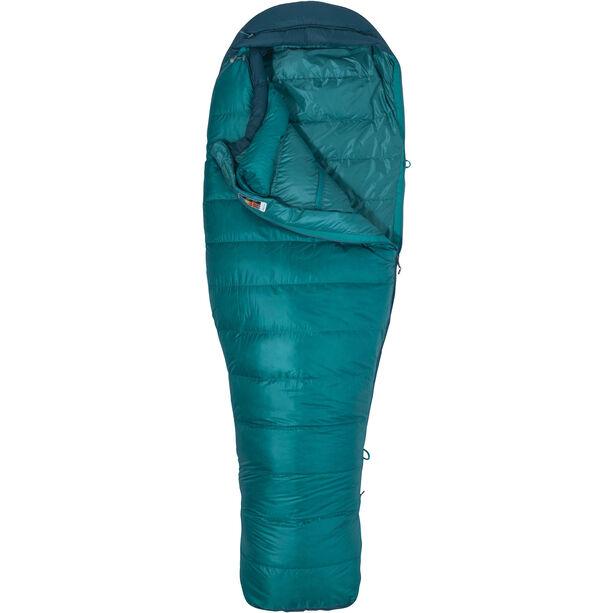 Marmot Angel Fire Sleeping Bag Long Damen malachite/deep teal