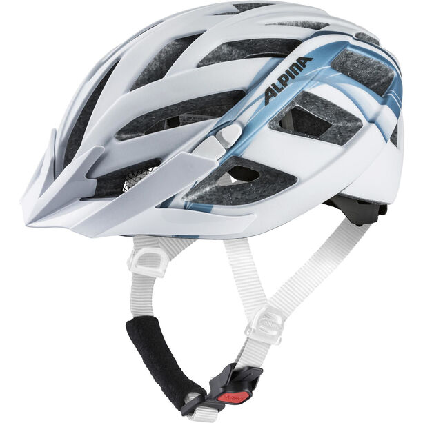 Alpina Panoma 2.0 L.E. Helmet white-blue metallic